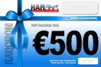 Kadobon 500 euro