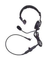 Kenwood KHS-7A hoofdband headset met PTT zendtoets